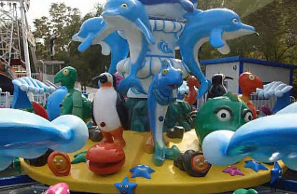 欢乐海洋儿童游乐设备 厂家直销全新玻璃钢装饰8臂欢乐海洋岛示例图8