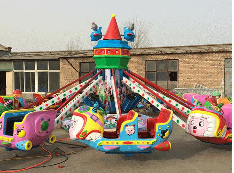 郑州2020大洋新型游乐喜洋洋大战灰太狼给你不一样的娱乐体验自控飞羊游乐设备示例图9