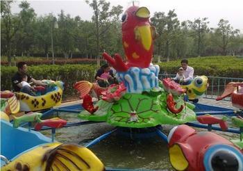 室内儿童游乐设备8臂鲤鱼跳龙门 郑州大洋鲤鱼跳龙门现货供应示例图5