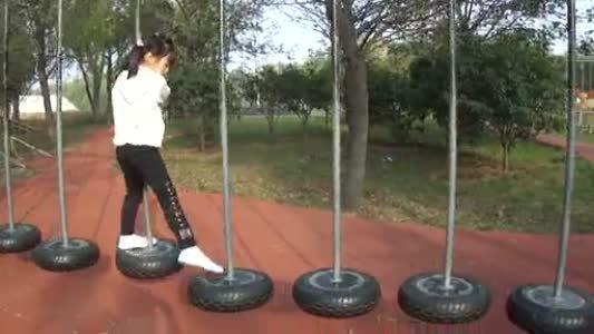 郑州大洋户外大型游乐项目儿童体能乐园,深受青少年喜爱大型体能乐园训练示例图3
