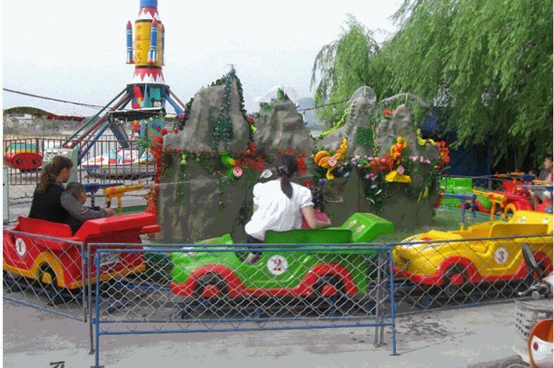 2020款式新颖安全优质夏季热门游乐设备儿童水陆战车 广场水陆战车游艺设施厂家示例图4