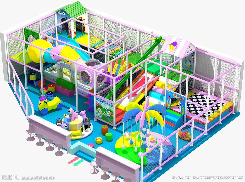 精品推荐室内游乐淘气堡 款式新颖 郑州大洋淘气堡儿童游乐园示例图7