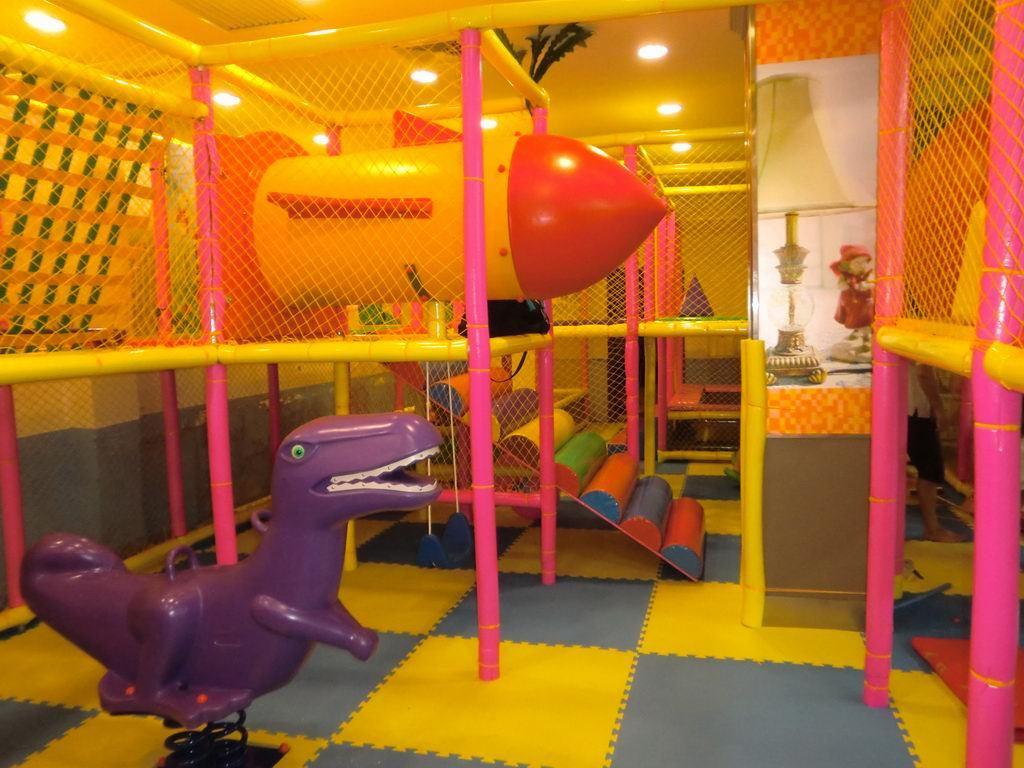 厂家直销淘气堡儿童游乐园  郑州大洋专业定制室内淘气堡项目儿童游艺设施设备示例图4