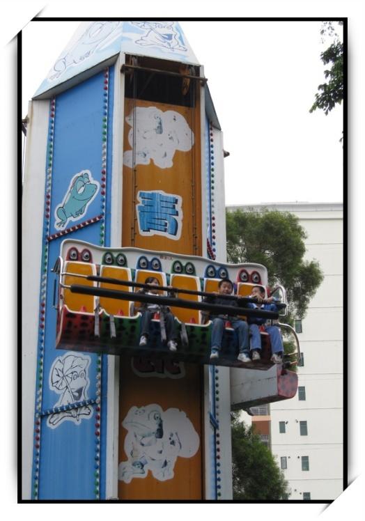 销售火爆公园游乐6座青蛙跳 迎六一十一大洋直销大型弹跳青蛙跳项目示例图4