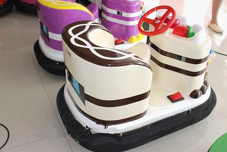 郑州大洋游乐专业定制现货供应儿童蛋糕碰碰车,蛋糕电动碰碰车示例图6