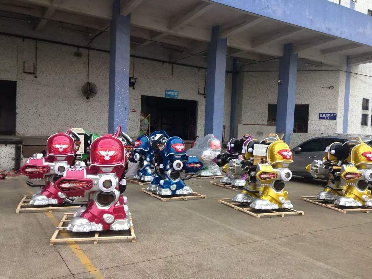 2020大洋游乐重磅推出儿童战火金刚机器人  广场火爆可乐侠机器人示例图13