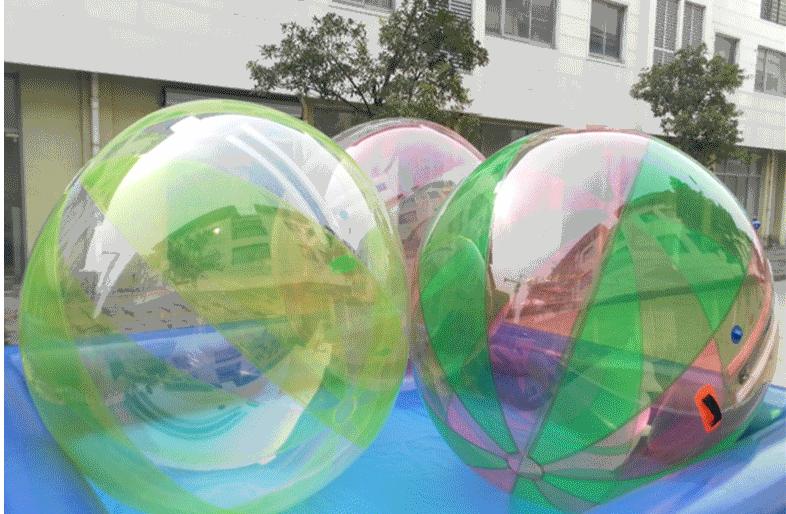 供应水上透明步行球 款式新颖大洋水上步行球儿童游乐设备示例图6