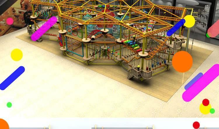 冒险岛儿童探险乐园室内儿童拓展,大洋游乐专业儿童拓展生产示例图9