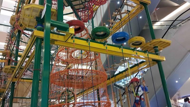 儿童拓展小型游乐设备,专业定制室内两层三层豪华儿童拓展训练大洋游艺设施厂家示例图8