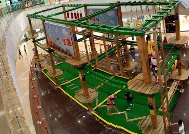 2020大洋游乐厂家直销儿童拓展,新款拓展训练冒险攀爬游乐项目游艺设施设备示例图7