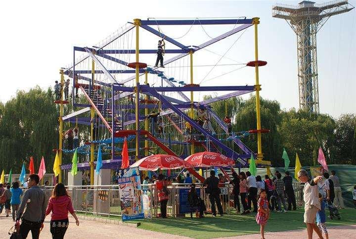 体能乐园儿童游乐设备 大洋大型户外游乐体能乐园训练款式新颖示例图11