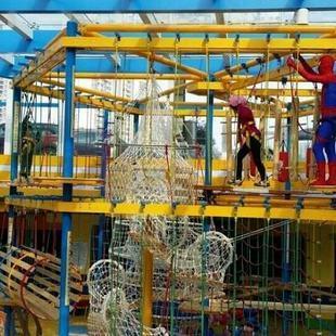 2020大洋游乐厂家直销儿童拓展,新款拓展训练冒险攀爬游乐项目游艺设施设备示例图13