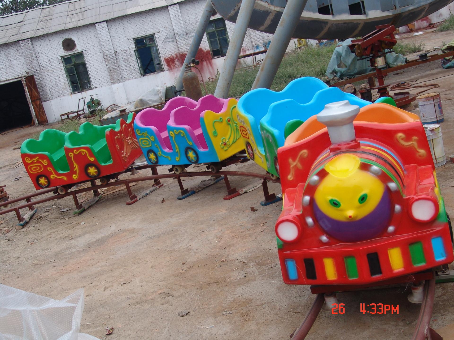 2020郑州大洋现货供应托马斯小火车 阿丽山小火车 卡通轨道小火车项目游乐设备儿童游艺设施厂家示例图10