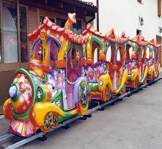 2020郑州大洋现货供应托马斯小火车 阿丽山小火车 卡通轨道小火车项目游乐设备儿童游艺设施厂家示例图9
