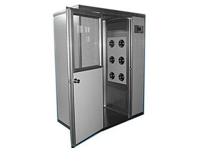 利杰LJ食品机械 转角风淋室 无尘风淋室 风淋室 自动门风淋室  不锈钢风淋室 单人单吹风淋室 风淋室生产厂家示例图2