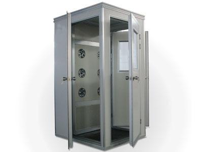 利杰LJ食品机械 转角风淋室 无尘风淋室 风淋室 自动门风淋室  不锈钢风淋室 单人单吹风淋室 风淋室生产厂家示例图1