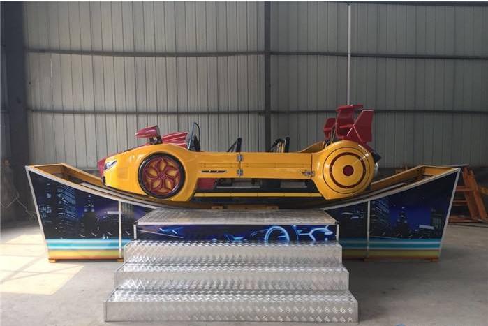 欢乐飞车儿童游乐设备 厂家直销新型霹雳飞车 郑州大洋生产厂家示例图8