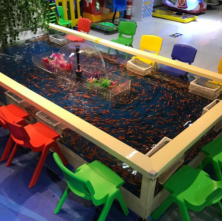 吃奶鱼,室内儿童游乐吃奶鱼,吃奶鱼游乐设备,吃奶鱼水上世界,吃奶鱼水族乐园,新型项目吃奶鱼,大洋水族吃奶鱼欢迎你示例图17