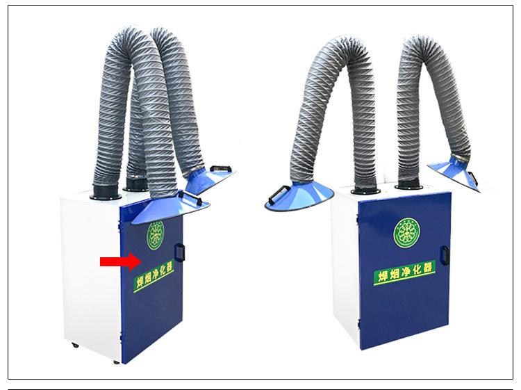 嘉辰打磨抛光焊烟机  焊烟净化器滤筒 车间焊接烟尘净化器 有意者电联示例图1