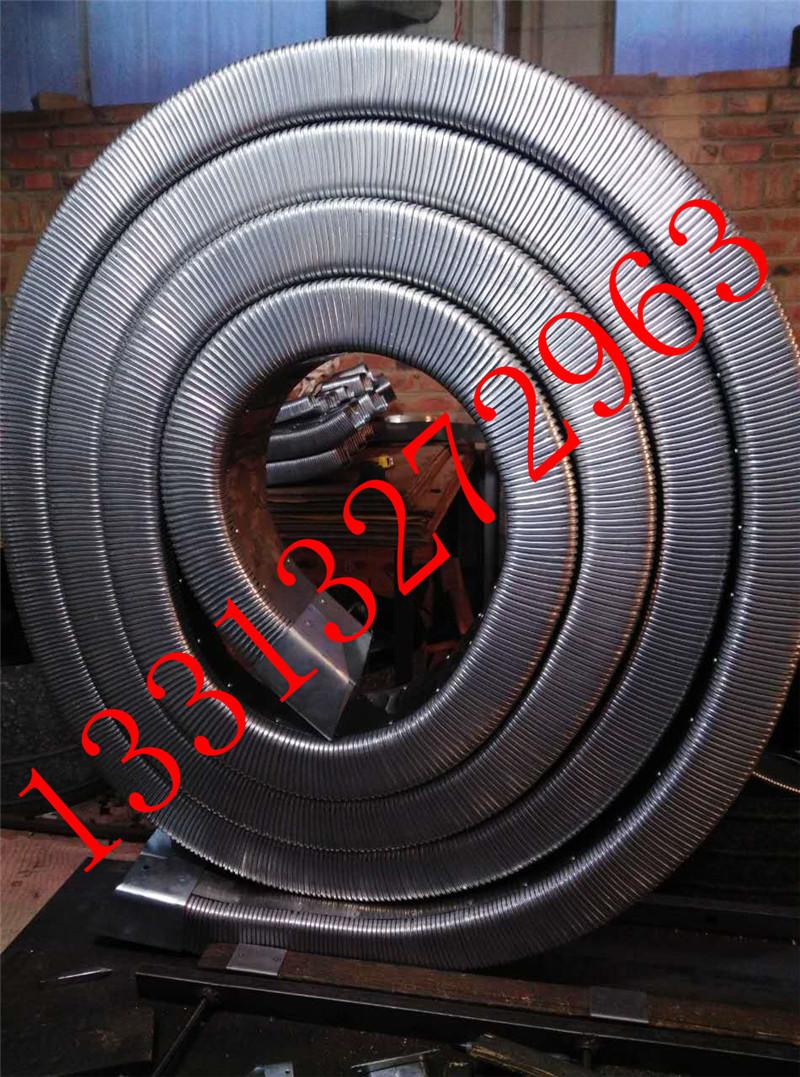 弯曲灵活穿线矩形管 矩形金属软管 线缆保护移动拖链 金属矩形管  耐高低温示例图8