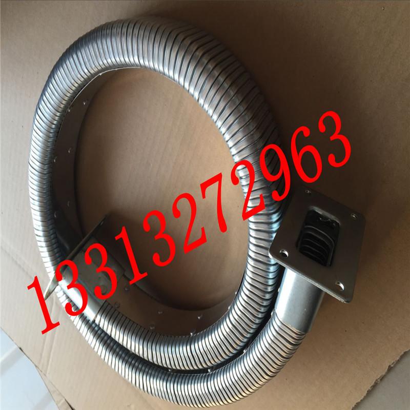 弯曲灵活穿线矩形管 矩形金属软管 线缆保护移动拖链 金属矩形管  耐高低温示例图2