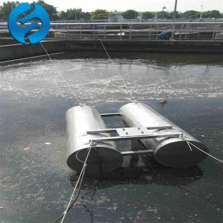 FQJB0.85/8-260浮筒式潜水搅拌机     漂浮式潜水搅拌器    兰江漂浮式水下搅拌机示例图8