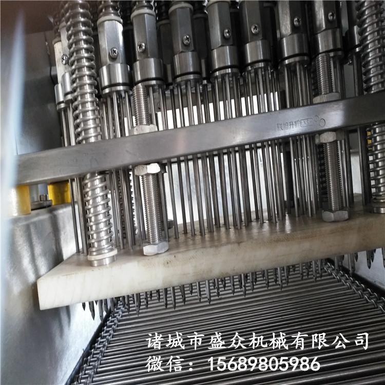 厂家供应全自动盐水注射机 盐水腌渍设备 驴肉全自动盐水注射机示例图9