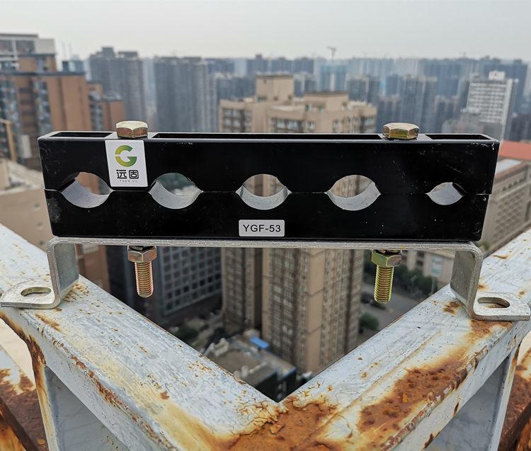 强电井预分支电缆固定支架与四孔电缆夹具生产加工示例图2