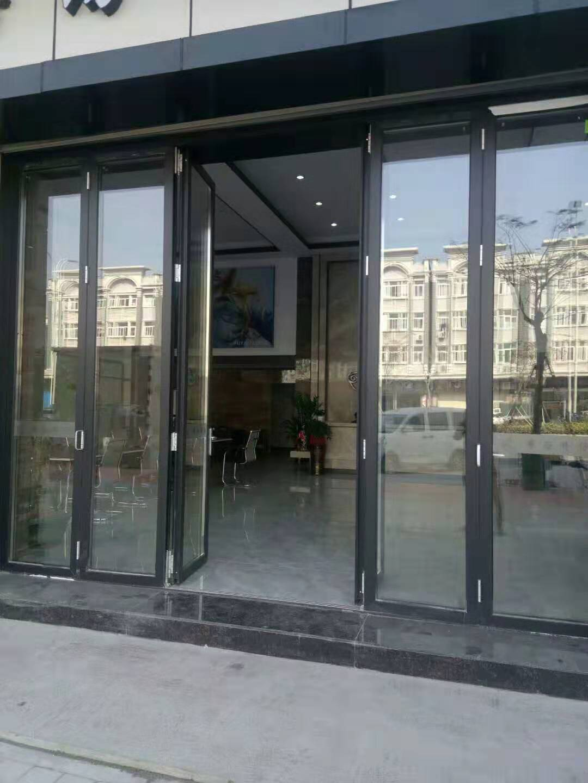 丽江金意享铝合金折叠门 酒店会所商场重型折叠大门 空间开启大示例图12