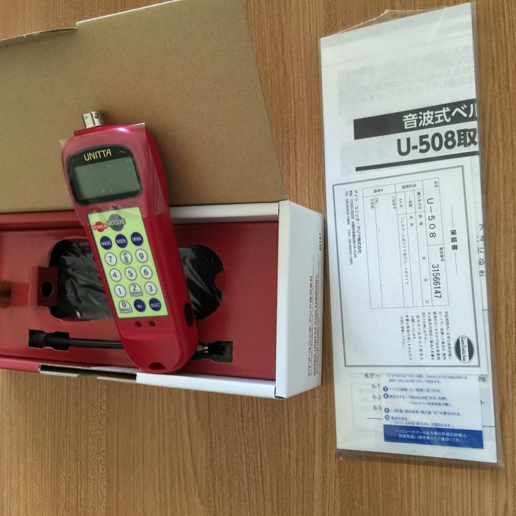 日本UNITTA音波式皮带张力计U-507升级替代品U-508厂家直销正品保障示例图3