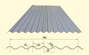 华宇压瓦机供应780横挂板机 大圆弧压瓦机 彩钢墙板成型设备示例图10