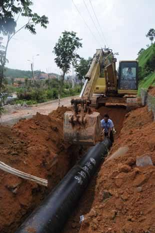 生活水管網流量計 生活水流量計 水漏損量計量表示例圖4