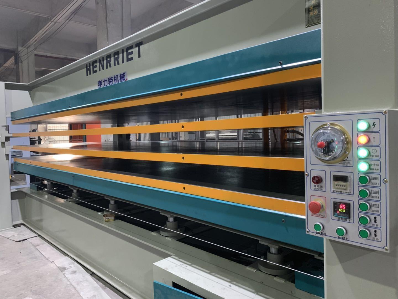 亨力特hlt3248-100t鋁蜂窩板熱壓機,熱壓機尺寸非標可以定制示例圖5